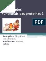 Propriedade Funcionais das Proteínas 2