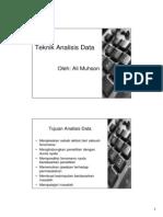 04 Teknik Analisis Data 2013