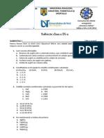 Subiect Clasa a IX-A Final