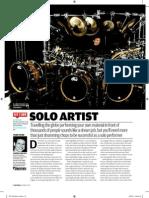 Rhythm Magazine Advice for Drummers
