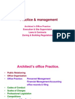 Practice & Management in Architecture