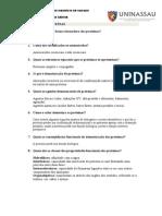 Questionário de Proteinas (1)