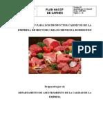 Haccp de Carnes Distribuidora Pacel