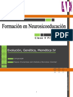 Evoluc.genet y Memetica IV