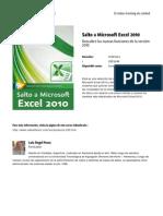 Salto a Microsoft Excel 2010