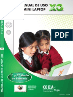 Manuales de Uso para las Mini laptop XO - Parte I