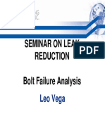 11 - Leo Vega Bolt Failure Analysis
