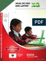 Manuales de Uso para las Mini laptop XO - Parte II