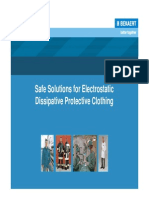 Bekaert Solutions for Esd Clothing