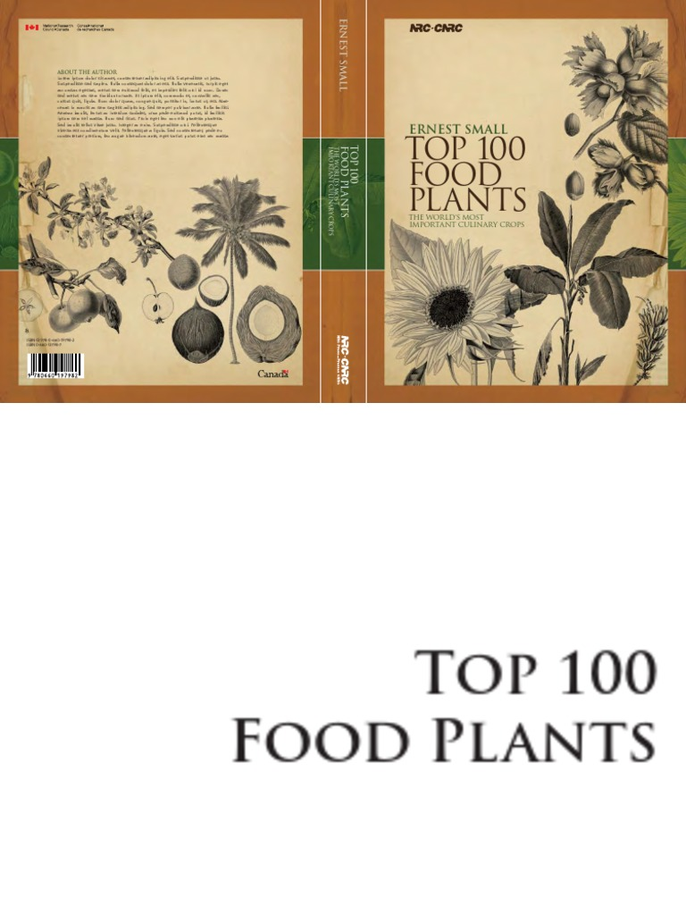 f25e67f87adde2 Top 100 Food Plants - The Worlds