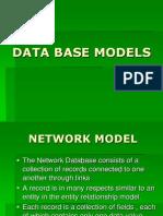 Data Base Models