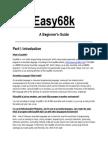 Easy68k a Beginners Guide