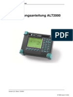 ALT2000 User Guide German Iss 3