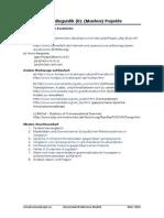 Korpuslinguistik und mögliche Projekte