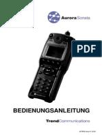 Sonata User Guide German Iss 6