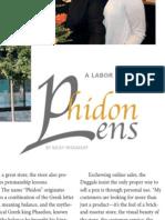 Phidon Pens profile from Pen World Magazine