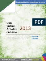 Guía virtual - Arboles en Lima