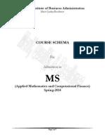 Course Schema MS (AM & CF) Proram-Spring-2014_Nov-20-2013_2