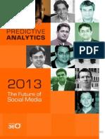 The Future of Social Media 2013 Predictive Analytics (1)