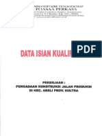 Data Isian Kualifikasi