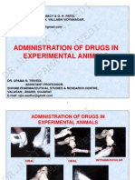 5. Administration of Drugs in Experimental Animals