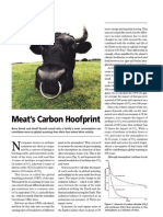 Meat's Carbon Hoofprint - Barry Brook and Geoff Russell - Science