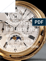 Clocks, Watches & Scientific Instruments | Skinner Auction 2724M