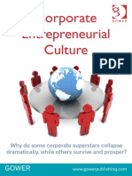 Corporate Entrepreneurial Culture 2013