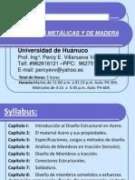 Clase Nº 01 y 02 Estructuras Metálicas