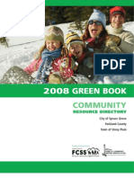 2008Green Book CommunityResourceDirectory