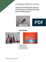 Presser Foot Stopper Roller-C Series