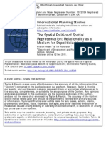 The Spatial Politics of Spatial Representation- Relationality as a Medium for Depoliticization