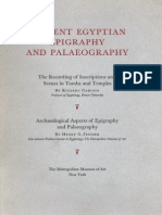 Caminos R., Fischer H.G. Ancient Egyptian Epigraphy and Palaeography