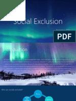 Social Exlusion