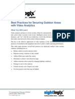 Best Practices for Outdoor Video Analytics White Paper