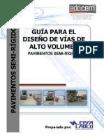 Guia de Pavimentos Semirigidos para Carreteras Alto Volúmen (23 08 2013)