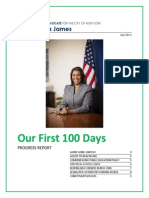 100 Days Report PA James