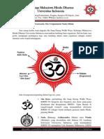 Deklarasi Logo Keluarga Mahasiswa Hindu Dharma Universitas Indonesia