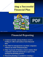 Chapter 11 Financial Plan