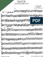 Bach Suite Flute Solo