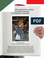 VN2885_pliego - Dimensión caritativa y social de la Evangelii gaudium