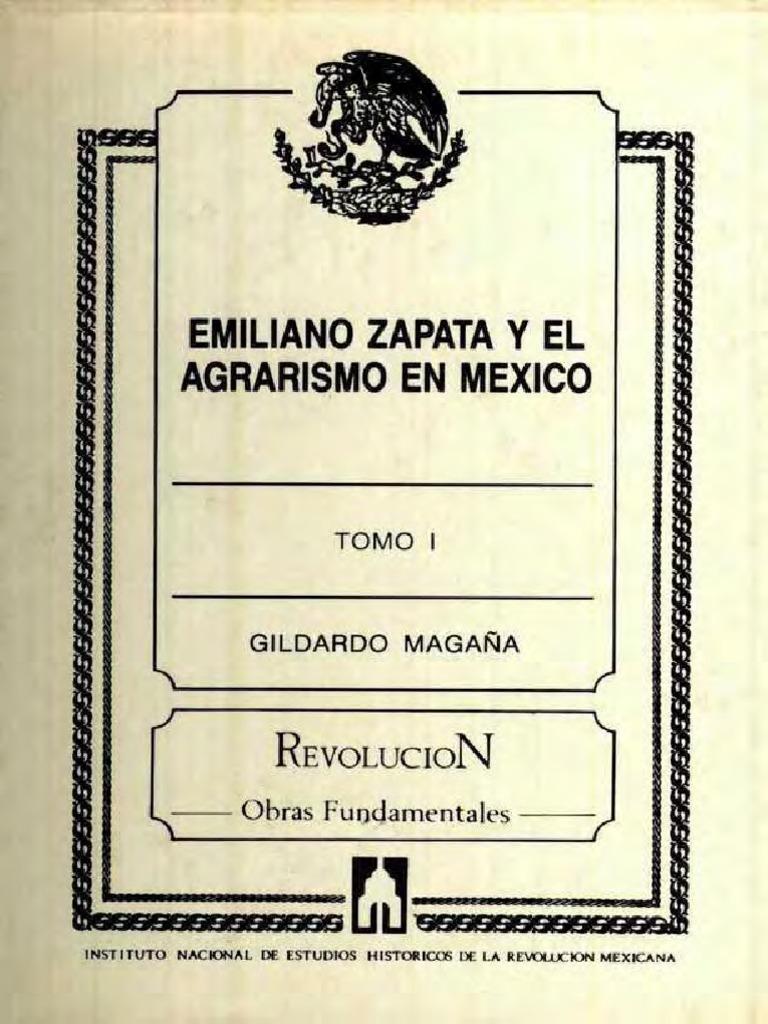 Zapata Y México pdf Agrarismo En El Emiliano T1 f6qBwd6