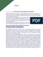 Resumen Del Libro de Mancini de Derecho Laboral.
