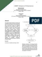 Advanced SWOT Analysis of E-Commerce