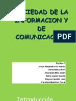 Sociedad de informacion y de Comunicacion 2