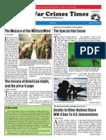 War Crimes Times -- Spring 2014 Vol. VI No. 2