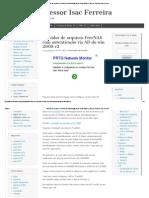 Servidor de arquivos FreeNAS com autenticação via AD do win 2008 r2 _ Blog do Professor Isac Ferreira