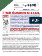 Failp News Bacheca Fondo Solidarieta 2014