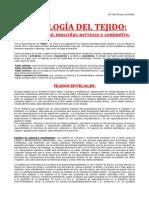 Histología del Tejido.