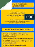 9 A kohéziós agrárpolitika
